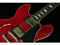 Gibson ES 335 : Gibson 1963 Reissue VOS Wildwood Ltd Edition Figured ES-335 es335
