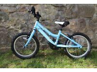 Girls Blue Ridgeback Melody Bicycle (16 inch wheels)