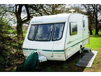 2 BERTH SWIFT MERIDIAN 420GT with End Washroom & Shower (1999-2000)