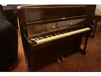 Monington & Weston upright piano in dark mahogany. Tuned & UK delivery available