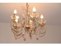 BHS 5 Arm Ceiling Chandelier Light GREAT CONDITION Collect PR8
