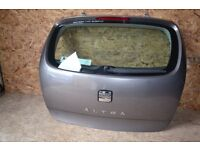 SEAT ALTEA 2006 REFERENCE 5 DOOR HATCH BACK REAR TAILGATE BOOT LID BARE