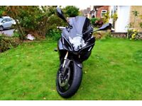 Suzuki GSXR 600cc 2007 Blacked out