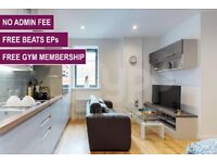 Studio Apartment at Onyx Residence, Flat 2: FREE BEATS EP HEADPHONES & 12 MONTH GYM MEMBERSHIP