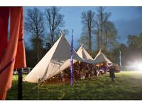 Events Assistant - Timber & Canvas tipi hire