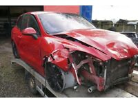 BREAKING PORSCHE CAYENNE 958 4.2 TDI V8 AUTO 2014 FOR PARTS ONLY PARTS