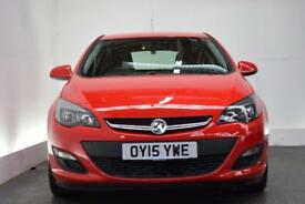 VAUXHALL ASTRA 1.4 EXCITE 5d 98 BHP (red) 2015