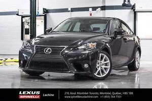 2014 Lexus IS 250 PREMIUM AWD; CUIR TOIT CAMERA LIQUIDATION FINA