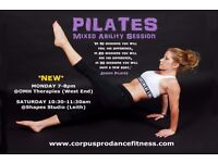 PILATES - Mixed Ability Session - Small Group - NEW class in Edinburgh West End!