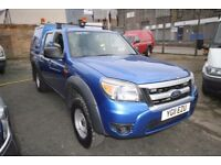 FORD RANGER XL 4X4 DOUBLE CAB 2.5 – 11-REG