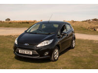 Ford, FIESTA, Hatchback, 2012, Manual, 1560 (cc), 5 doors