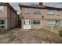 3 bedroom semi detached house with two reception rooms,