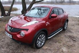 Nissan Juke Tenka 1.6 auto petrol, left hand drive. 7 500 miles only! Ready for export!