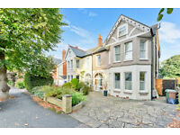 Very large 5 bedroom detached house with garden right next to Belmont Station.