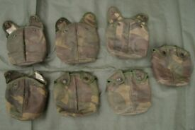 USED / G1 - Dutch Army DPM Water Bottle Pouches