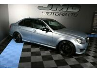 2013 MERCEDES C220 CDI B.E. AMG SPORT PLUS NIGHT EDITION STYLE 168BHP (FINANCE AND WARRANTY)