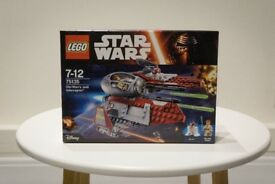 Star Wars LEGO 75135 - Obi Wan's Jedi Interceptor (NEW & BOXED)