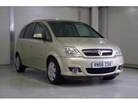 2007 Vauxhall Meriva 1.6 i 16v Design 5 Door, Low Mileage Family Car