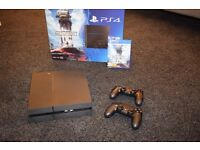 Playstation 4 500gb good as new with two controllers and Star Wars Battlefront