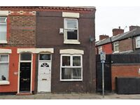 81 Nimrod St, Walton. 2 bedroom end of terrace with DG & GCH. Fitted kitchen. LHA welcome