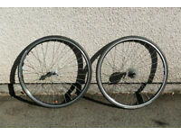 700C Road Racing Wheels Shimano Hubs Michelin Lithion Puncture Resistant Tyres