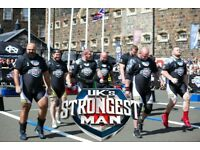 UK's Strongest Man 2 x Final Tickets St Albans 29th July