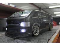 Tamiya TB02 4wd RC Drift Car