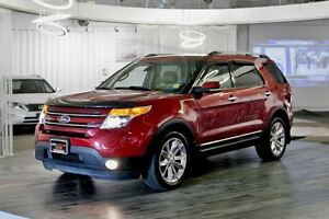 2013 Ford Explorer Limited, Navigation, Panoramic Sunroof, Power