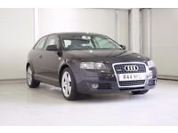 2005 Audi A3 2.0 TDI Sport Quattro 3dr ,Cambelt Changed, Private Plate Included