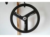 Corima 3 Three Tri spoke Carbon Time Trials TT Race Road Tubular Rear Wheel 700C Not Hed Quad 4 £300