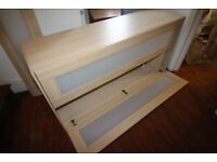 FREE double divan bed base and IKEA wardrobe. Collection only