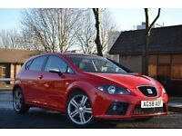 🔷YOU SEEN THIS??🔷 2008 58 SEAT LEON FR TDI RED just serviced 12 months mot flywheel clutch done