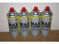 MAX FLAME BUTANE GAS