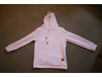 White Muscle Hoodie, Size M, still with tags!