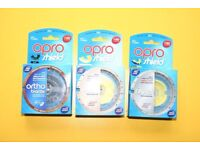 OPRO Mouth Guard Age 7 to adult BRAND NEW IN BOX X 3