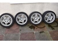 Original BMW alloys 17 in very good condition