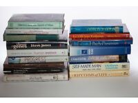 16 assorted hardback books broadly on Evolution; Charles Darwin; Darwinism; genetics etc.