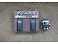 Boss AD-3 Acoustic Effects Pedal