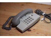 Retro / Vintage BT Telephone Home Phone in Grey GWO & Good Condition