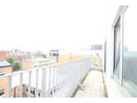 Quailty two bedroom apartment with private terrace within a recently built block in Spitalfields E1