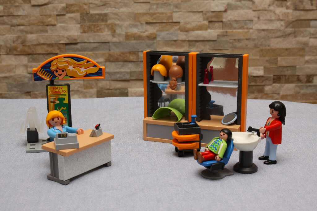 Playmobil Beauty Salon Hairdressers (4413) in great condition