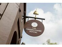 Full and Part Time Bar Staff at The Sindercombe Social in Shepherds Bush
