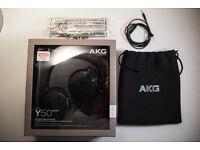 AKG Y50 headphones in excellent condition