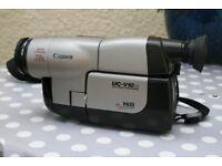 CANON UV-V10 Hi8 - 8mm Video Camera - 72x Digital Zoom