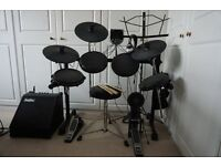 Drum Kit Electronic Alesis DM6 plus Amp Package