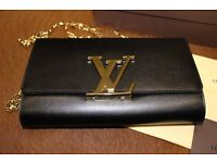 Louis Vuitton real leather fully boxed clutch