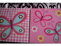 butterly canvas