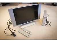 "LG 17"" HD Ready LCD TV/Monitor with Sony Freeview box, Excellent condition."