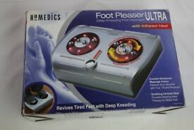 Homedics Foot Pleaser Ultra Feet massager with infrared