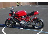 Ducatti Cafe Racer based on Ducatti Monster 916 RS4
